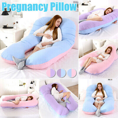 U Shaped Maternity Pregnancy Pillow Nursing Feeding Boyfriend Body Pillows New