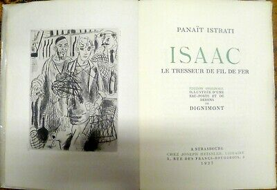 Isaac / Panaït Istrati / 1927 / Version in Sprache Französisch