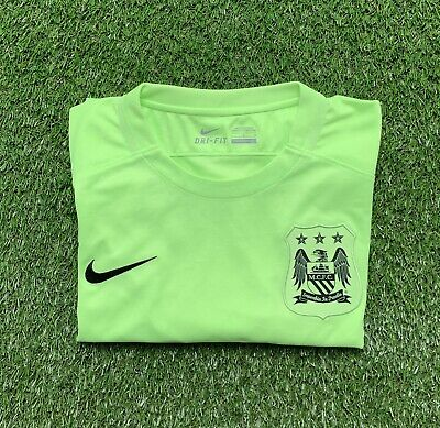 Manchester City Nike Third Football Shirt 2015-16- Large