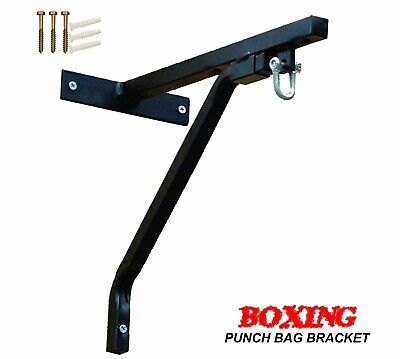 Wall Bracket Punch Bag Heavy Duty Boxing Bag MMA Steel Wall Mount Hanging Stand