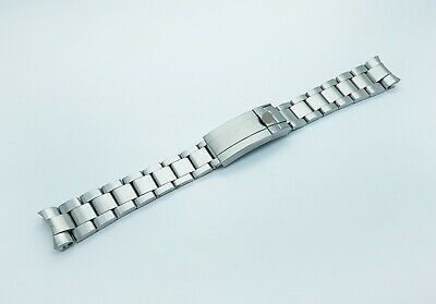 20mm Rolex Watch Stainless Solid Steel Replacement Bracelet Silver
