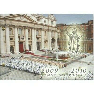 2010 Vatican Year for Priests Envelope Bureau Farthing FDC