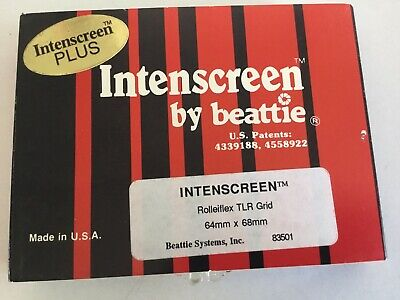 Boxed Intenscreen For Rolleiflex TLR Type Camera's