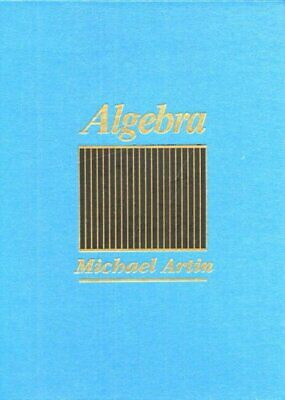 Algebra [1st Edition] by Artin, Michael 0130047635 The Cheap Fast Free Post