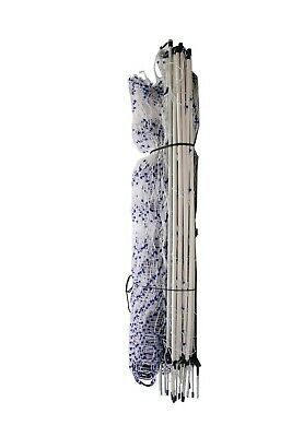"""Poultry Netting 48""""H 82'L Double Spike 12/48/3 Electric Portable Fencing"""