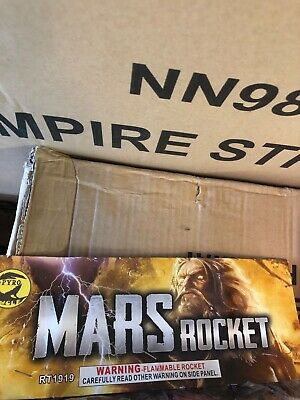 Collectible Mars Rockets Firework Labels