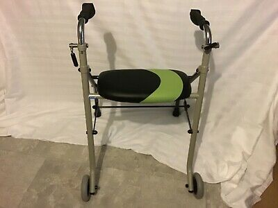 🌻Invacare Rea Adjustable Rollator Walker Mobility Aid With Seat 55cm Wide 🌻