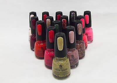 China Glaze Nail Polish Choose Assorted Colors A - Z ~ Pick 2 colors 5oz/14mL