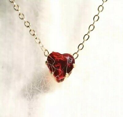 8 x Red Love Heart Necklaces Wholesale Joblot Car Boot Top Quality Jewellery ##