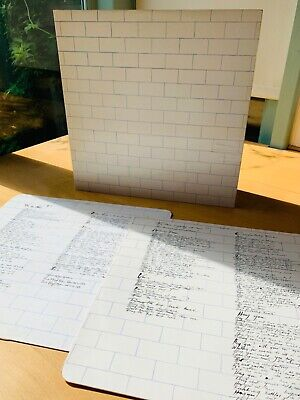 PINK FLOYD 'The wall' Double Vinyl LP In Gatefold With Inners-1979-SHDW411