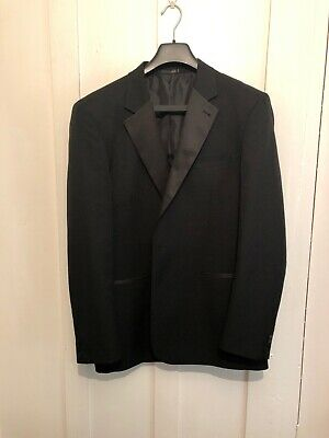 Mens Taylor And Wright Dinner Suit/ Tuxedo Jacket 44 L Trousers W 38 L 29 Vgc