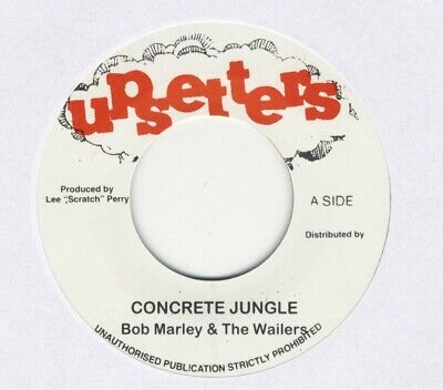 "Bob Marley & The Wailers ‎– Concrete Jungle MINT 7"" UPSETTERS LEE PERRY"
