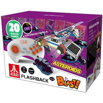 Atari Flashback Blast! V2 Feat. Asteroids Plug/Play Controller/Console[AT Games]