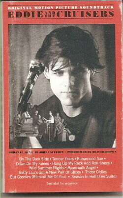 EDDIE AND THE CRUISERS - SOUNDTRACK -1983 - CASSETTE - Org.case and Insert
