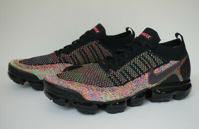 Nike Air Vapormax 2 Flyknit Men's Running Shoes Multi-color 942842 017 Size 11.5