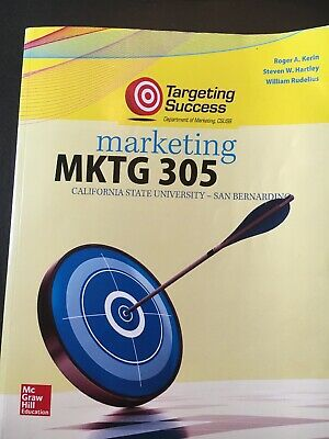 NEW - Marketing by Kerin, Roger A.; Hartley, Steven W.; Rudelius, William