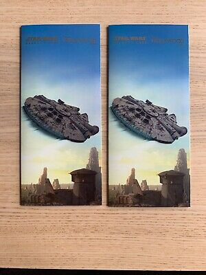 2019 Disney's Hollywood Studio Star Wars Galaxy Edge Opening Day Park Maps (2)