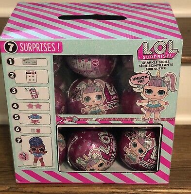 LOL Surprise Dolls SPARKLE Series Full Case of 18 Balls ::NEW::