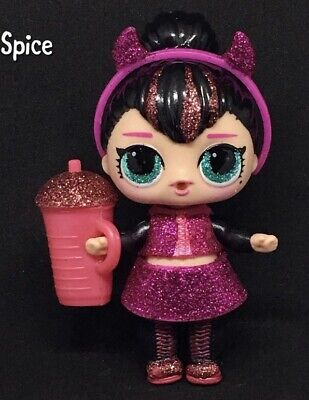 LOL Surprise Spice Glam Glitter Series Doll Ball Big Sister Authentic Complete !