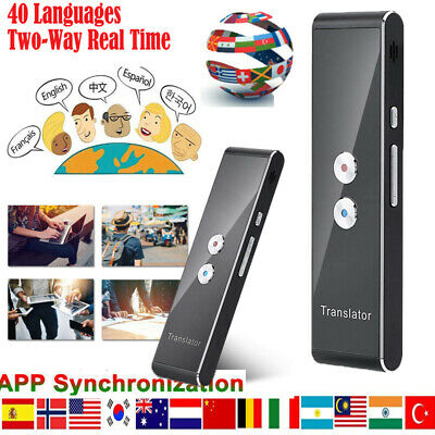 Translaty MUAMA Enence Smart Instant Real Time Voice 40 Languages Translator T8
