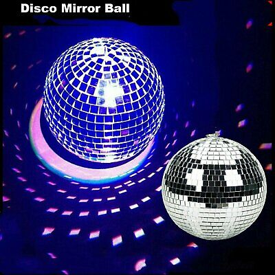 Disco Mirror ball Club DJ Reflective Dance Event Stage Lighting Ball Party