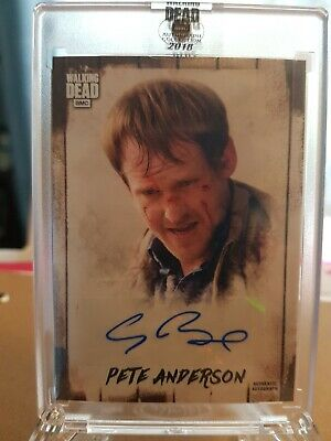 Pete Anderson The Walking dead Autograph Collection 90/99