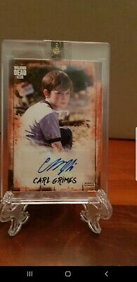 The Walking Dead AUTOGRAPH COLLECTION CARL 16/50