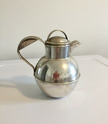 Victorian Water jug. Silver plate. Condition for age ,good.