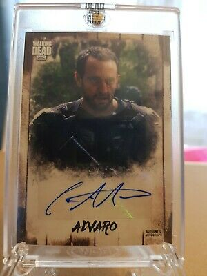 The Walking Dead AUTOGRAPH COLLECTION Alvaro 17/34
