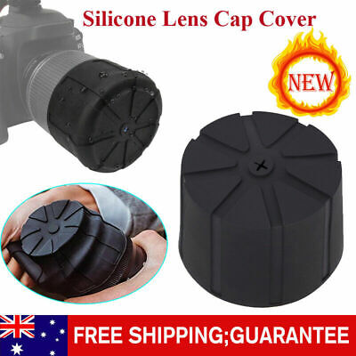 Universal Silicone Lens Cap Cover For DSLR Camera Waterproof Anti-Dust HOT!