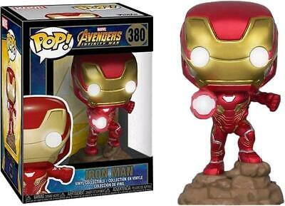 Avengers 3: Infinity War - Iron Man Light Up Pop! Vinyl - FunKo Free Shipping!