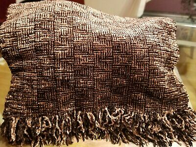 CAROL PRESS - Womens Handwoven Chenille Scarf