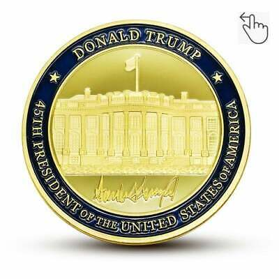 Donald Trump Commemorative Coin The White House US 45th President