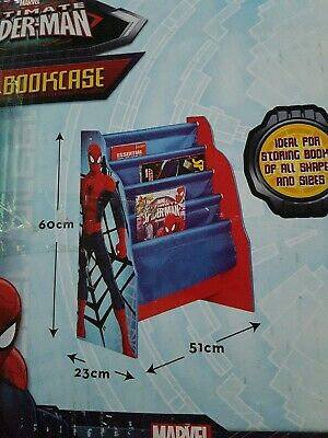 Spiderman Sling Bookcase New