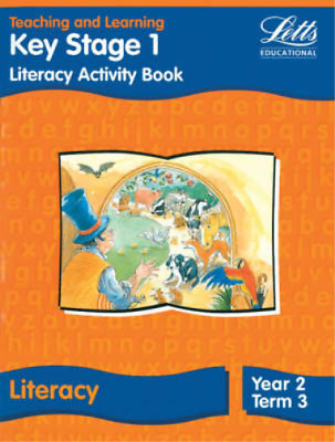 Letts Primary Activity Books for Schools - KS1 Literacy Activity Book: Year 2, T