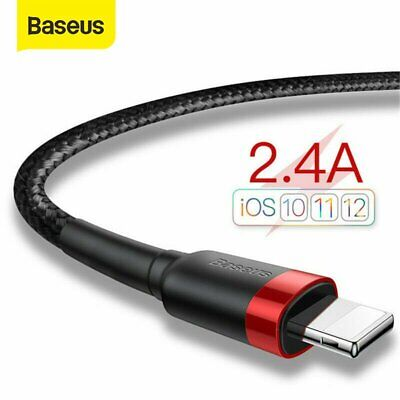 Baseus Fast Charging Usb Lightning Charger iPhone Cable Reversible Unbreakable