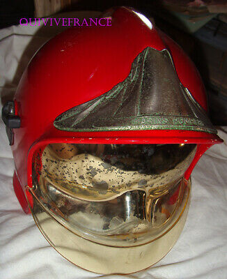 Casque De Marin Pompier F1 Type Ii Rouge - Obsolete