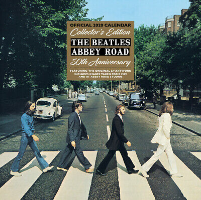 THE BEATLES Abbey Road (NEW OFFICIAL 2020 WALL CALENDAR) 50th anniversary