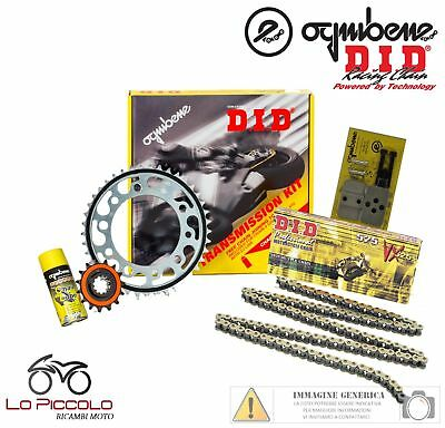 Yamaha Mt-09 900 - Abs - Tracer 2013 Kit Trasmissione Catena Did Corona Pignone