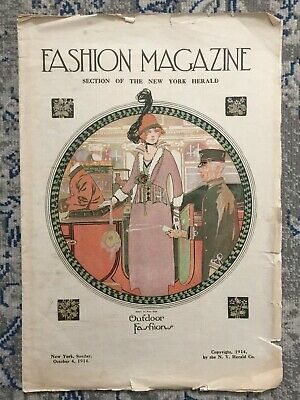 October 1914 Fashion Magazine Section of the New York Herald