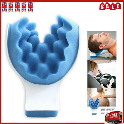 Cervical Neck Head Pain Relief Traction Pillows Shoulder Relaxer Support PillB