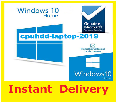Windows 10 Home 32 / 64bit Genuine Key Product key / Windows 10 Home key