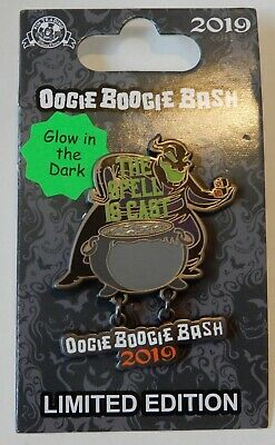Disneyland Pin - Oogie Boogie Bash - The Spell is Cast - Cauldron - LE 4000