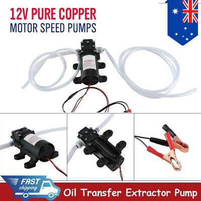 12V Car Electric Engine Oil Transfer Extractor Pump Fluid Diesel Electric Siphon