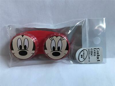New Disney MICKEY & MINNIE MOUSE Contact Lens Case  Imported from JAPAN