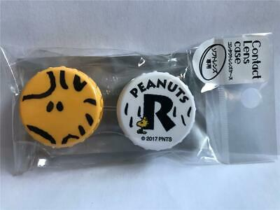 New PEANUTS WOODSTOCK Contact Lens Case  Imported from JAPAN
