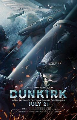 "Dunkirk movie poster (f) - 11"" x 17"" inches"