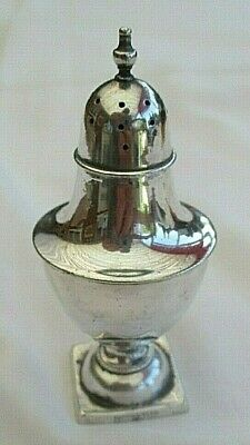 Lovely Antique Mappin & Webb Princess Silver Plate Pepper Pot / Shaker