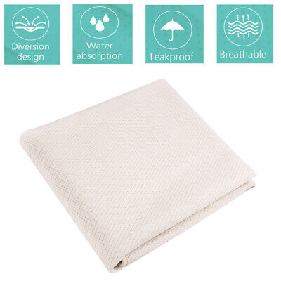 Large Underpad Washable Incontinence Bed Pads Sheet Protector for Adult Child UK