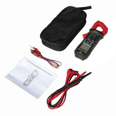 6000 Counts True RMS Clamp Meter Digital Multimeter w/ Square Wave Output Diode